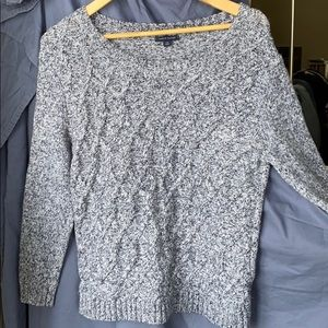 TH Cotton Blend Cable Sweater,  L        13AAA-103